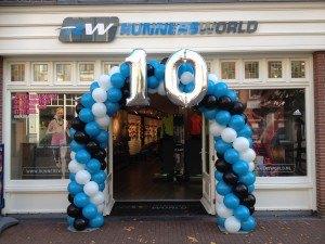 10 jaar ballonnenboog