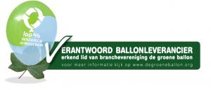 logo groene ballon