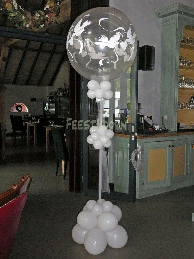 Reuze bruidsballon
