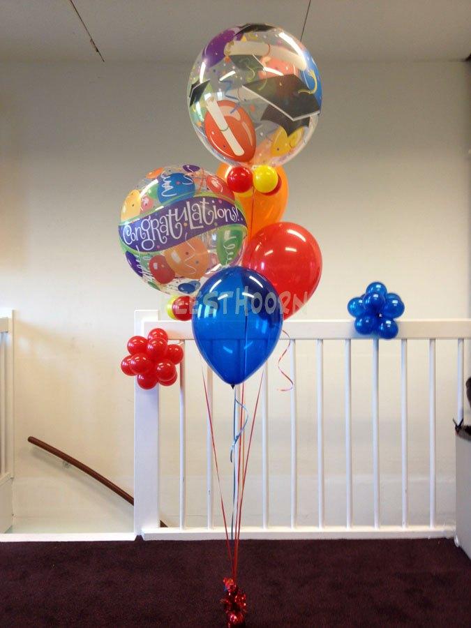 Helium geslaagd ballonnen