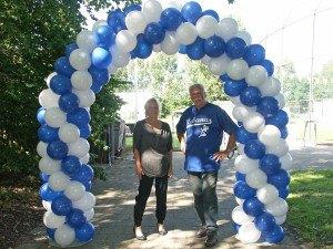 Standaard ballonnenboog