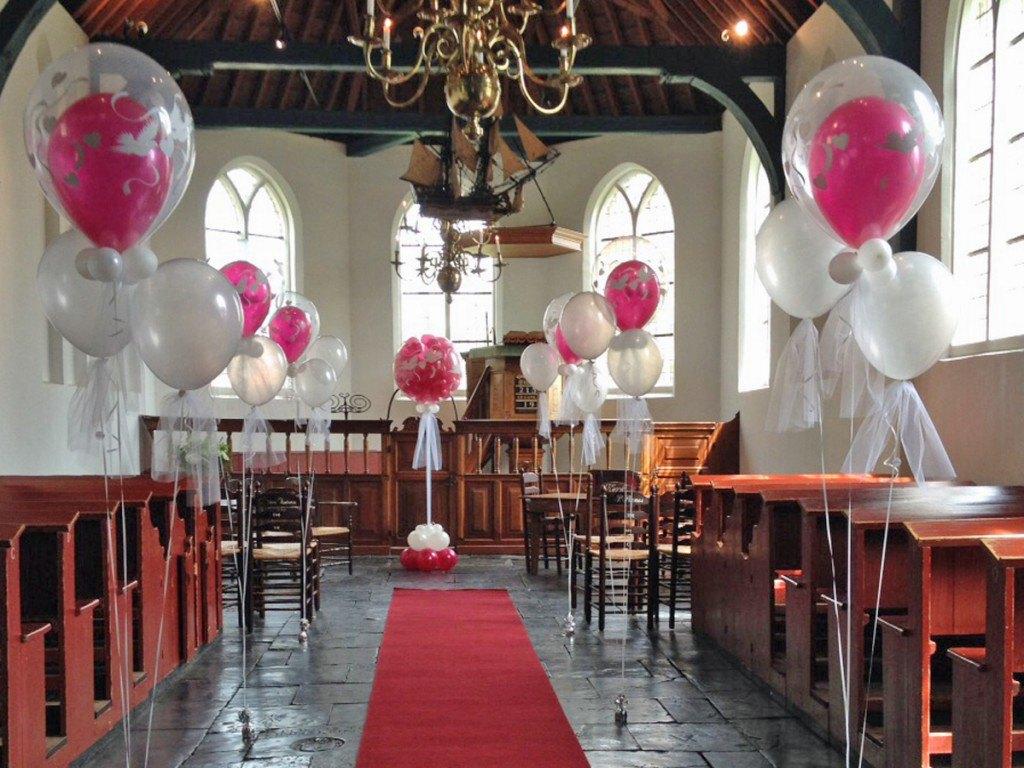 ballonnen decoratie bruiloft