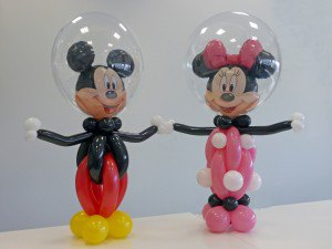 Mini en mickey mouse ballonnen