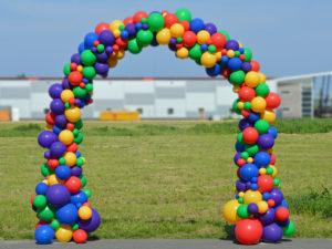 Organische ballonnenboog