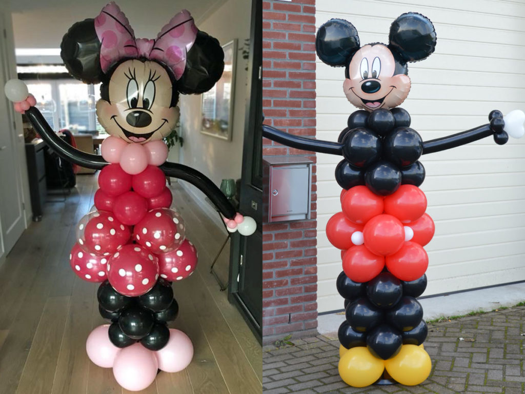 Minnie en MIckey Mouse
