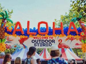 Ballondecoratie Aloha