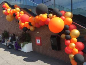 Organische ballon guirlande