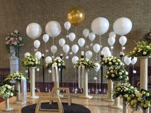 Helium decoratie uitvaart