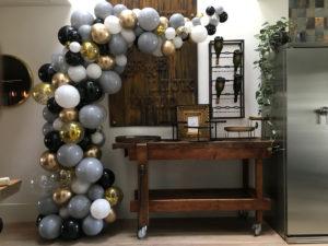 Organische ballonnen boog