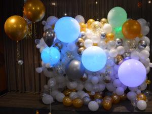 Organische ballonnen wand