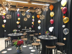 organische helium ballonnen decoratie